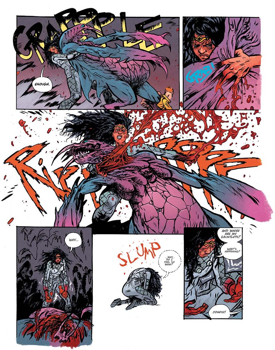 Монстры и постапокалипсис. Первые кадры «мрачной» мини-серии комиксов о Чудо-Женщине 7