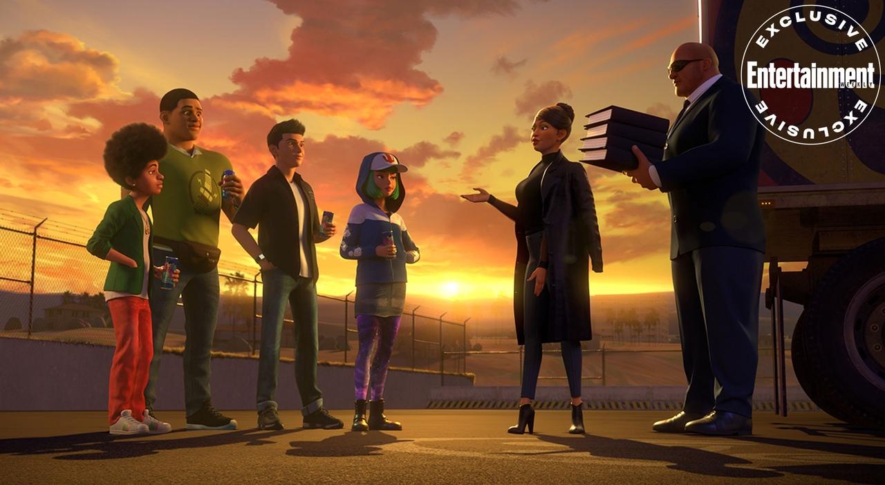 Первые кадры из подросткового мультсериала «Форсаж» для Netflix 7