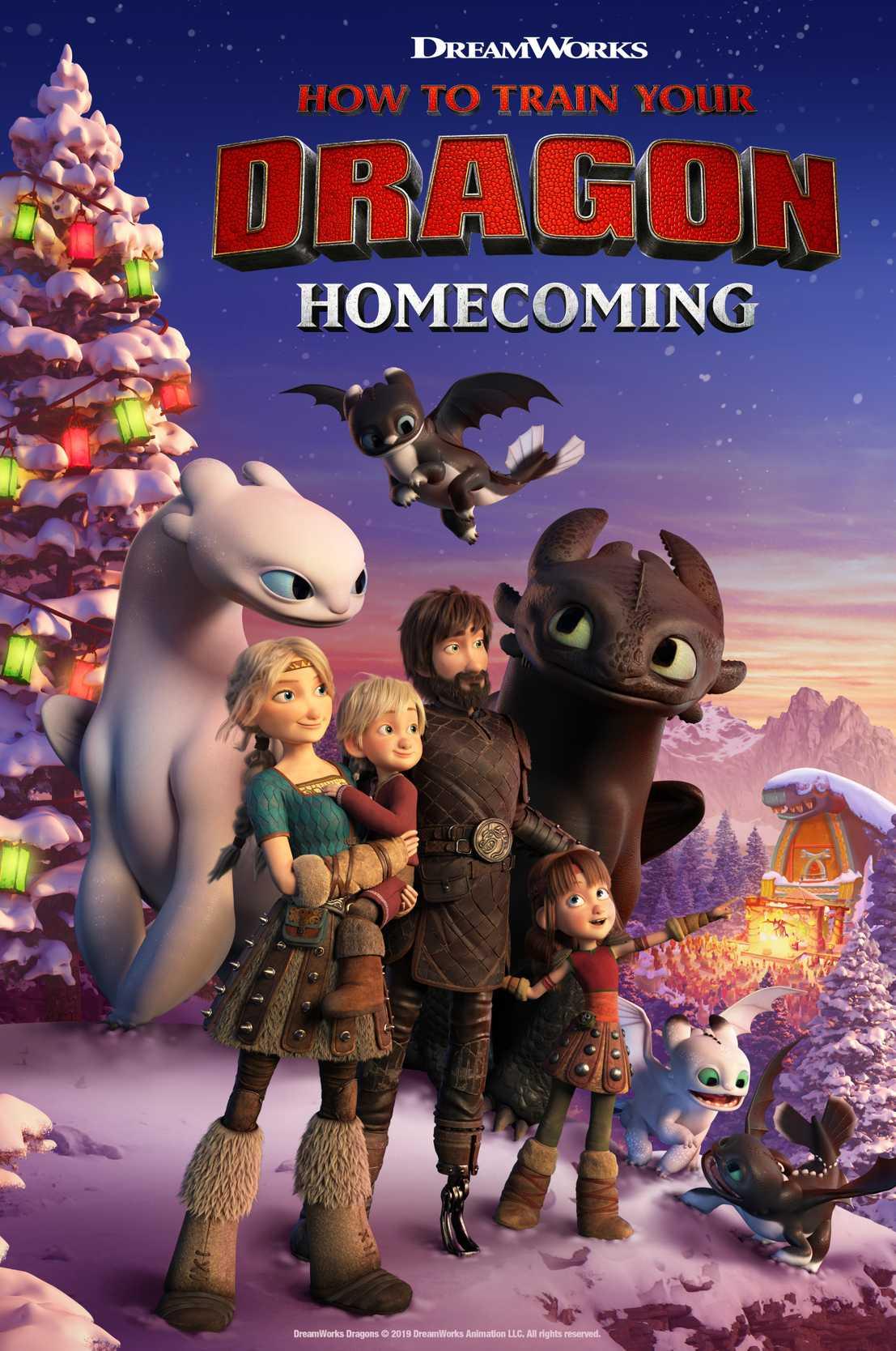 Первый трейлер мультфильма «Как приручить дракона: Возвращение домой»