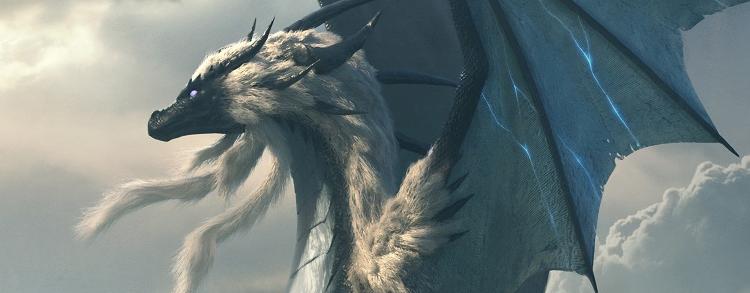 Три дракона на постера мультсериала «Принц-дракон»