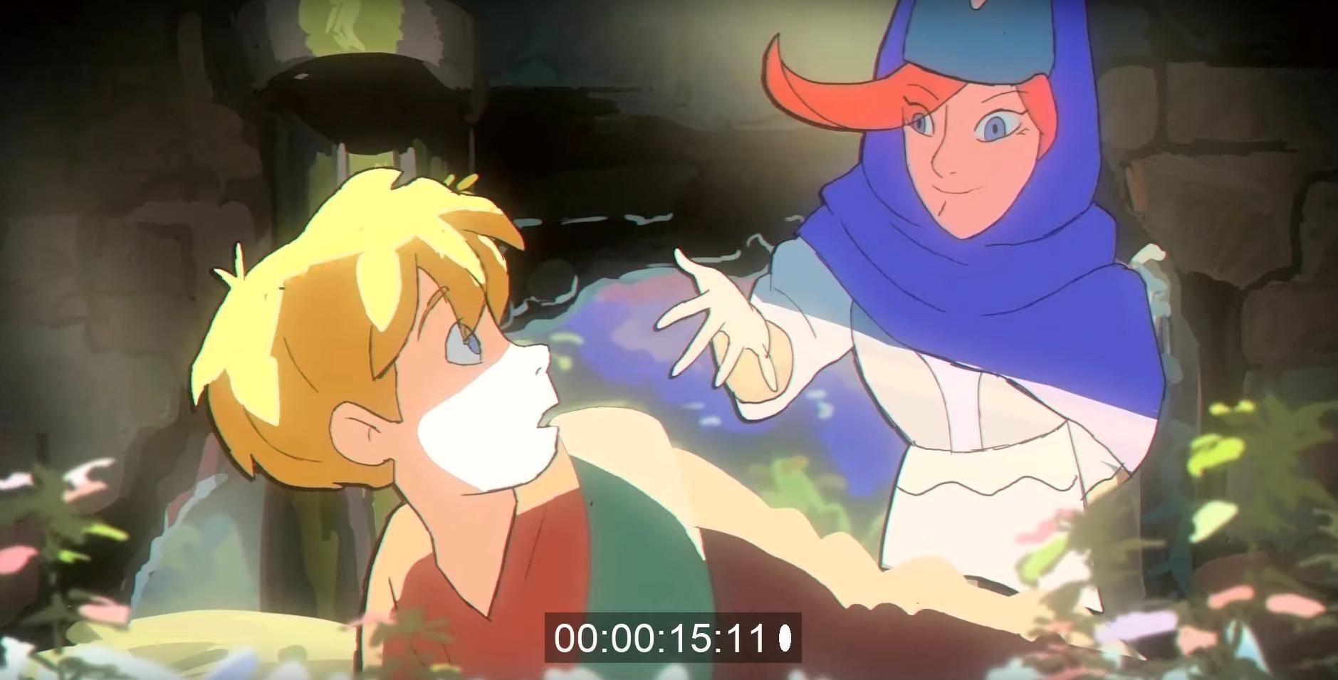 Короткометражка: Dream Bandits — трейлер фэнтези мультсериала в духе 90-х 1