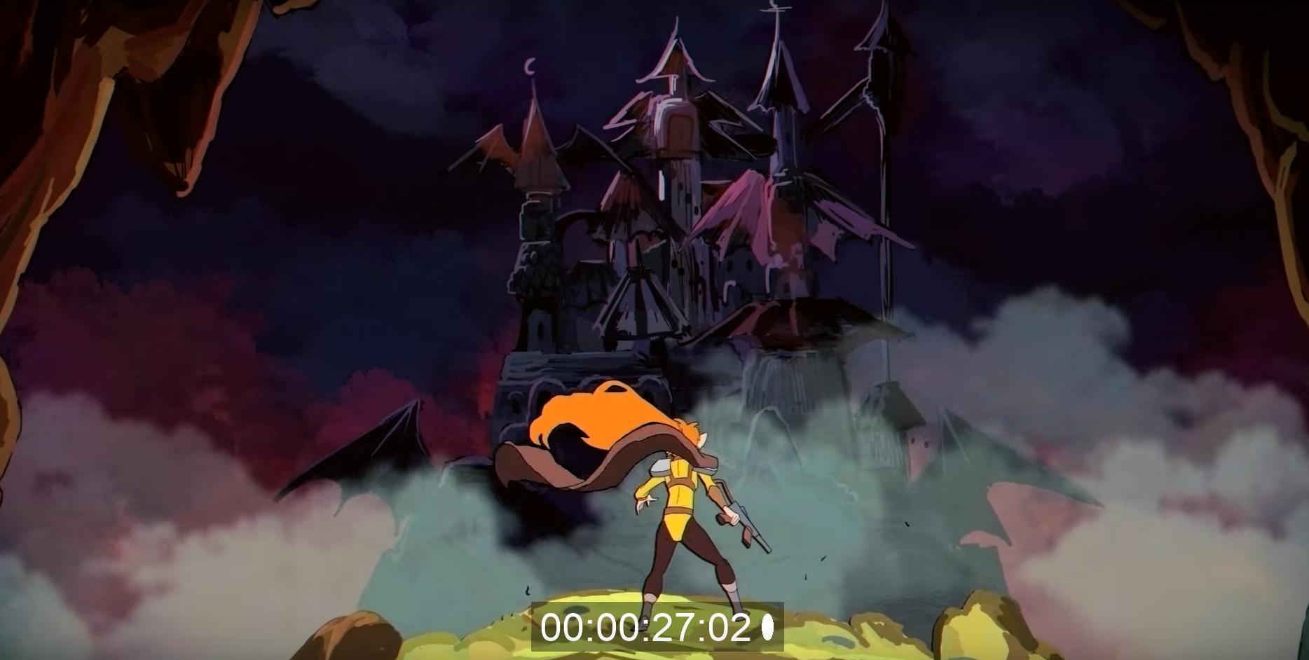 Короткометражка: Dream Bandits — трейлер фэнтези мультсериала в духе 90-х 5