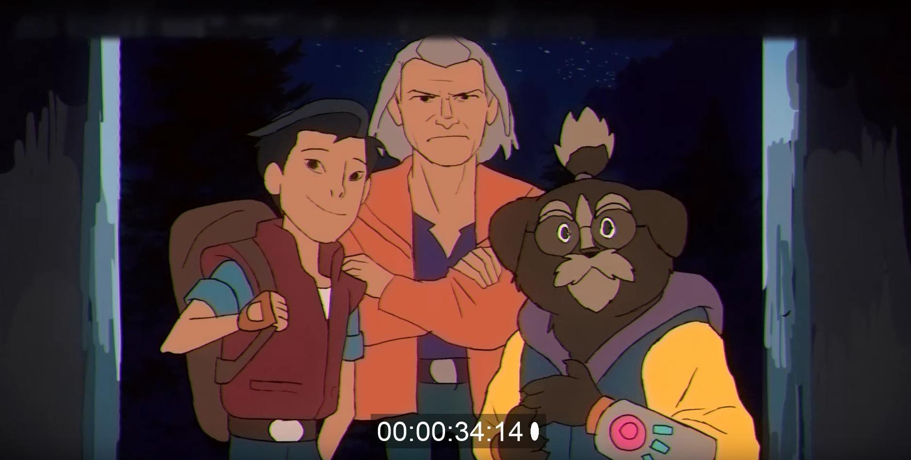 Короткометражка: Dream Bandits — трейлер фэнтези мультсериала в духе 90-х 6