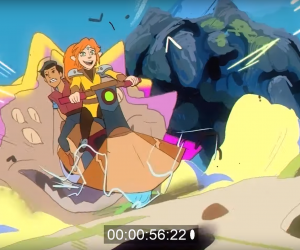Короткометражка: Dream Bandits — трейлер фэнтези мультсериала в духе 90-х 8