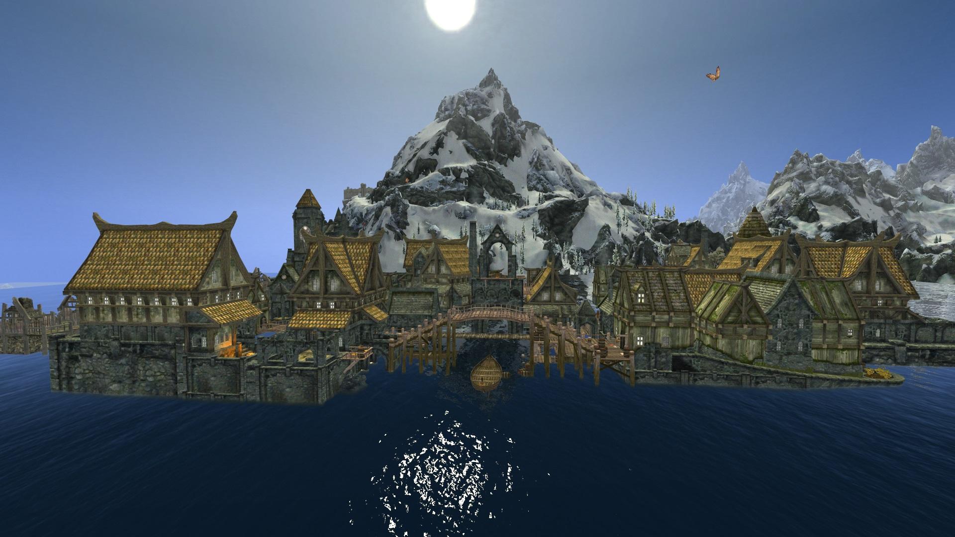 Для TES: Skyrim вышла модификация Path of Hobbit — Широм, Одинокой горой и 500 персонажами 2