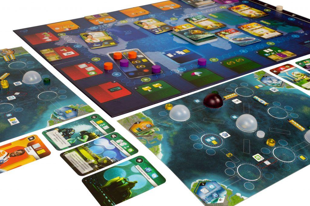 Настольная игра «Подводные города» 1