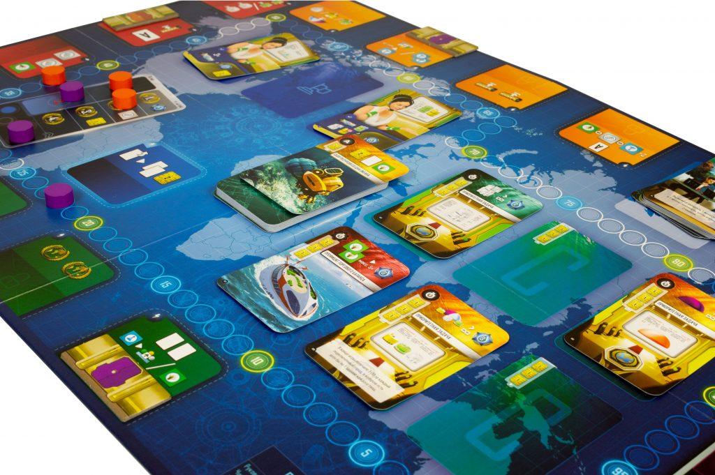 Настольная игра «Подводные города» 2