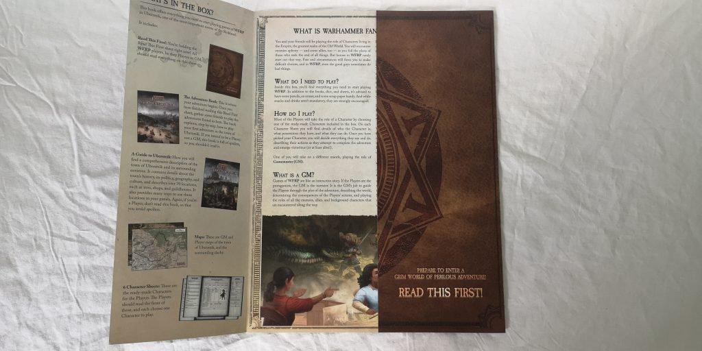 Стартовый набор Warhammer Fantasy Roleplaying 4ed. Обзор 3