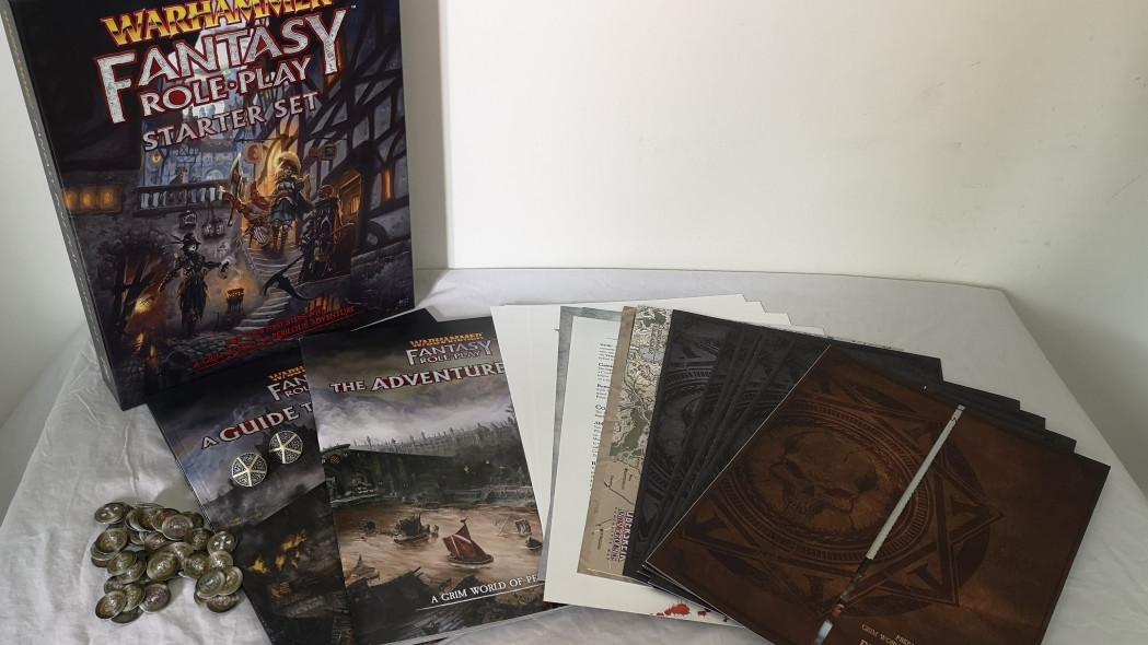 Стартовый набор Warhammer Fantasy Roleplaying 4ed. Обзор 7