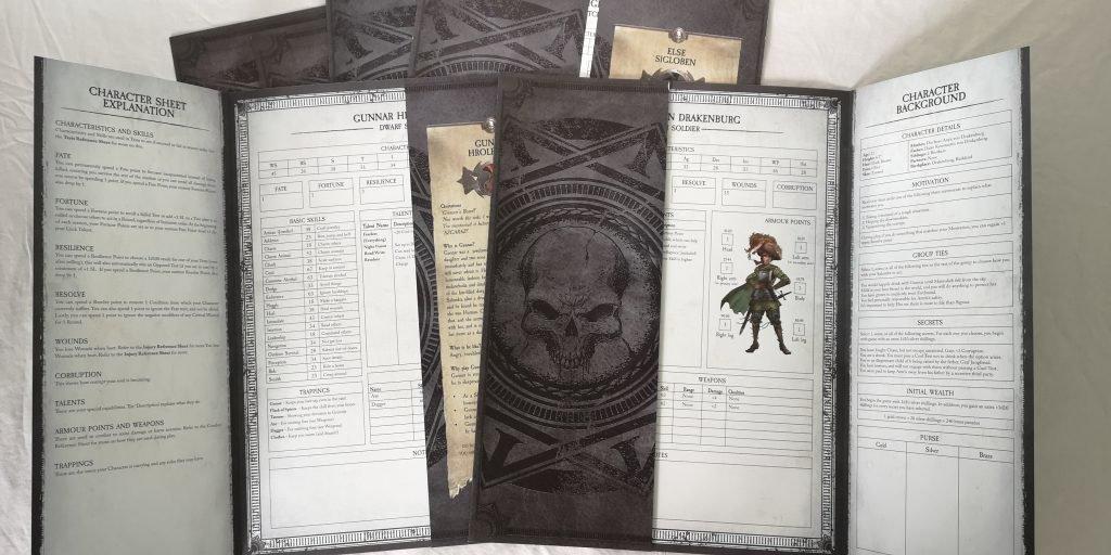Стартовый набор Warhammer Fantasy Roleplaying 4ed. Обзор 5