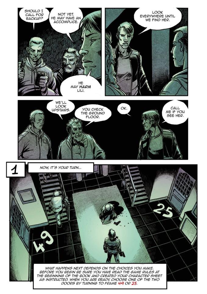 Что такое Graphic Novel Adventures? Рассказываем про игры-комиксы для участников крауд-кампании 2
