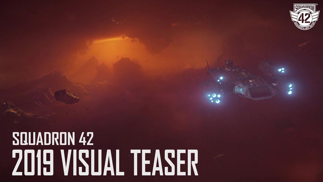 Кинематографичный тизер Squadron 42 —сюжетной кампании Star Citizen