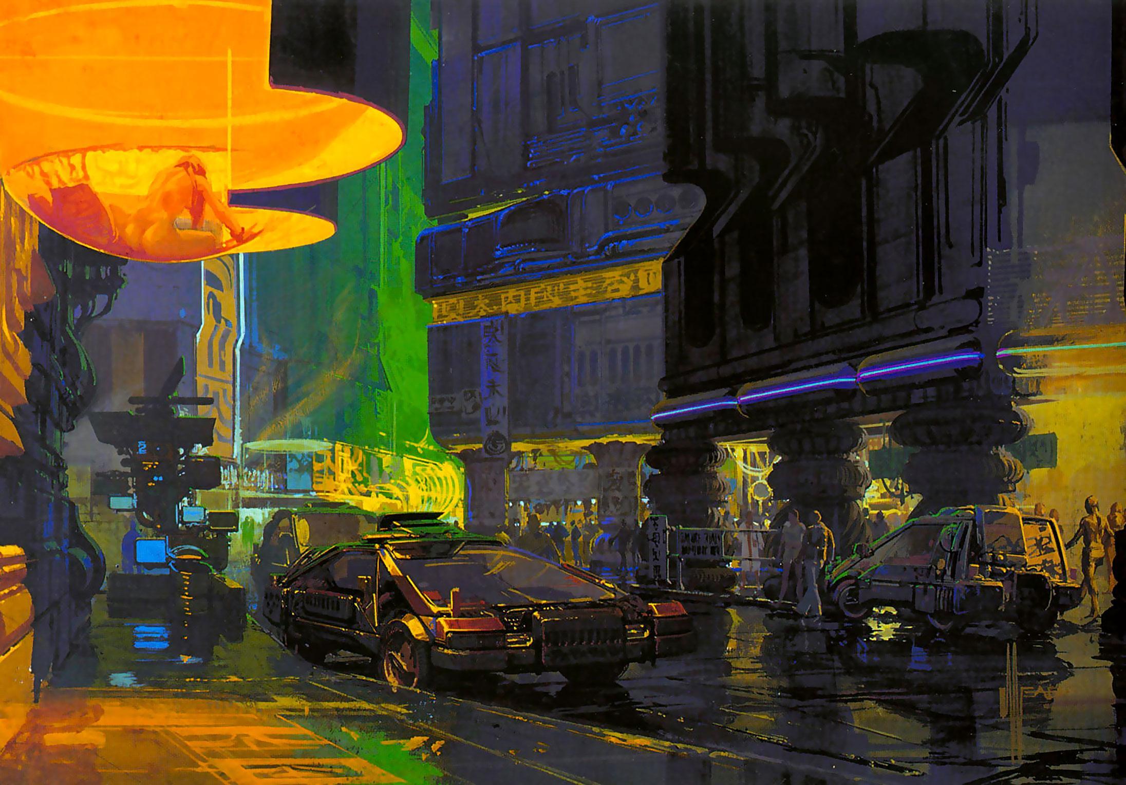 Умер Сид Мид — художник, рисовавший будущее 7