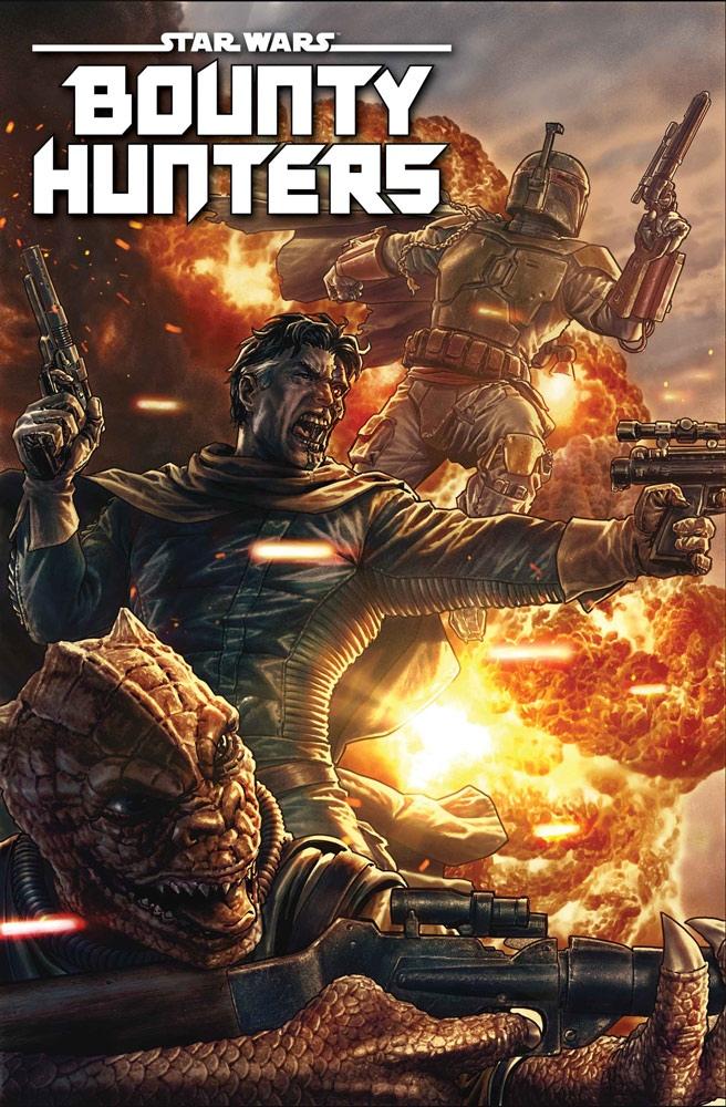 Marvel запустит серию комиксов «Звёздные войны: Охотники за головами» 1