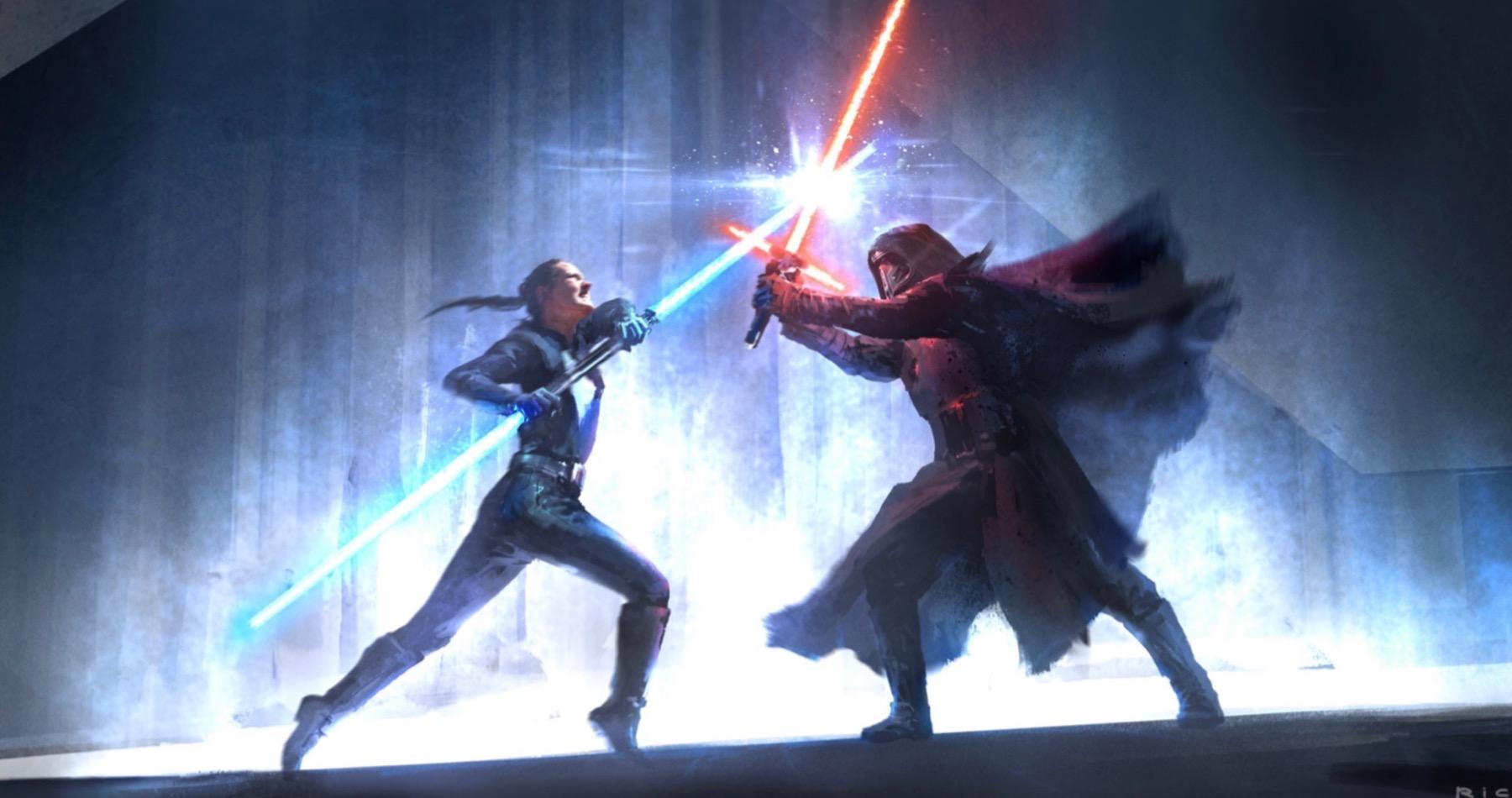 Арт: концепты кчерновой версии IX эпизода «Звёздных войн» 3