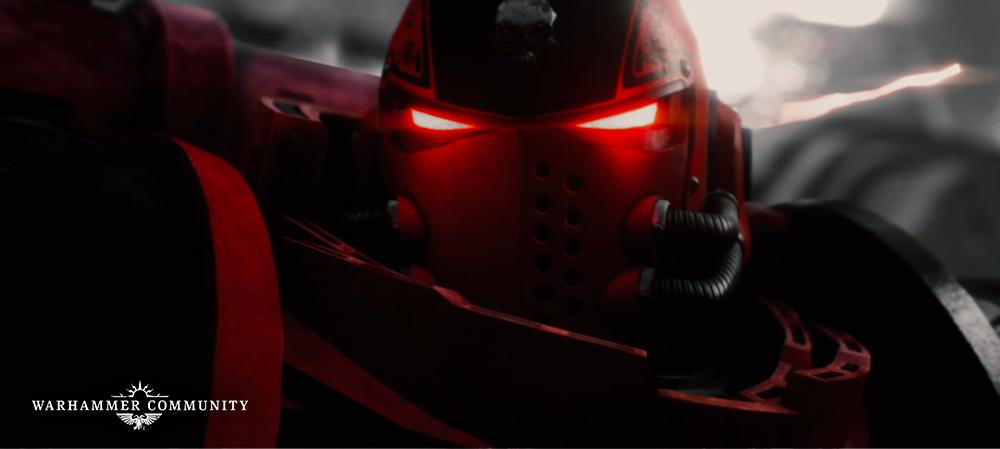 Первый тизер анимационного сериала Angels of Death поWarhammer 40,000 1