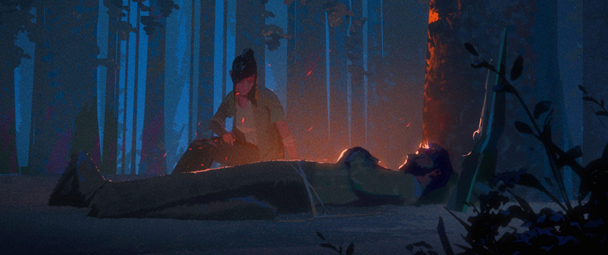 Арт: кадры из отменённого мультфильма повидеоигре The Last ofUs 4