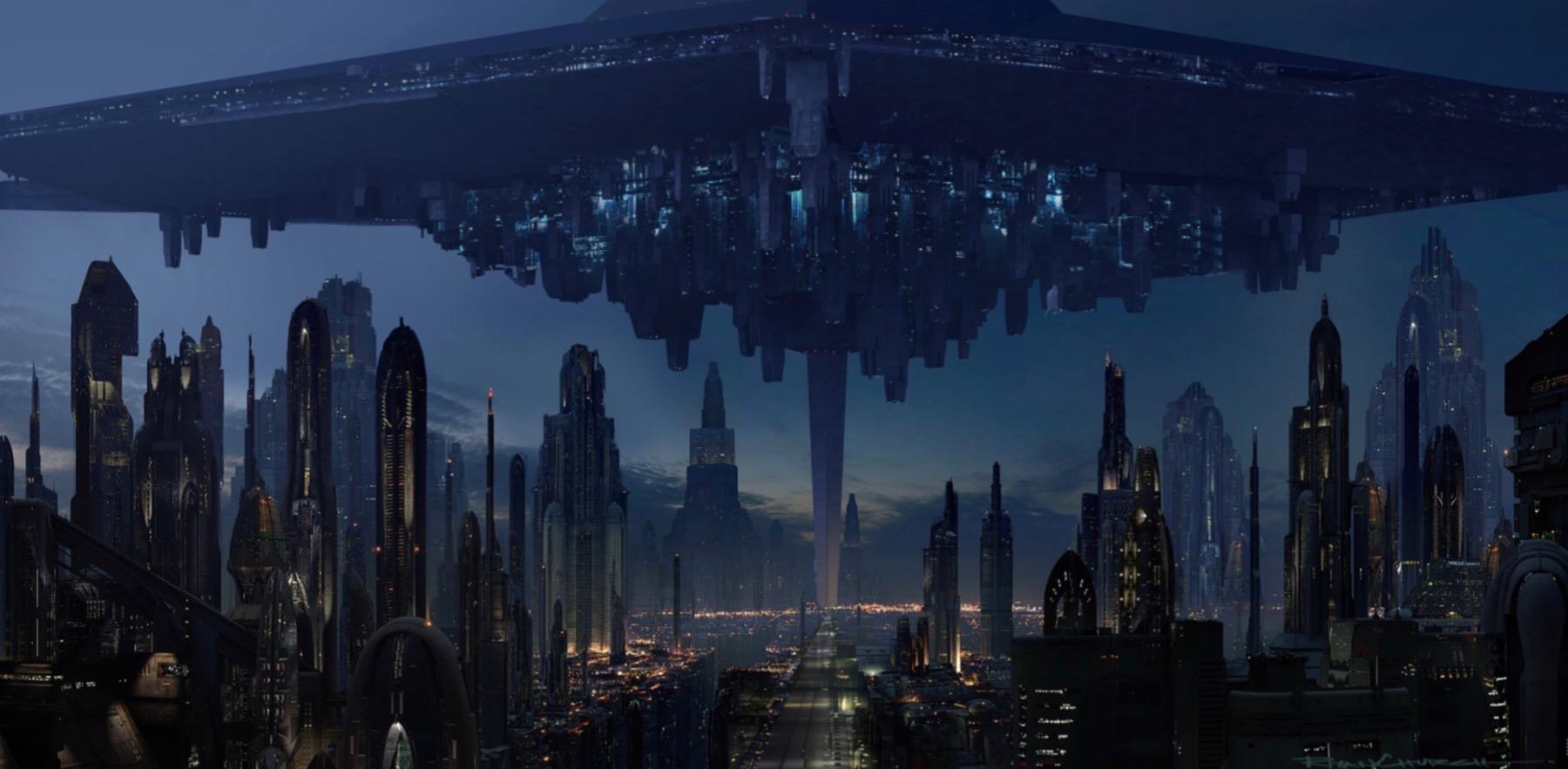 Арт: концепты кчерновой версии IX эпизода «Звёздных войн» 4