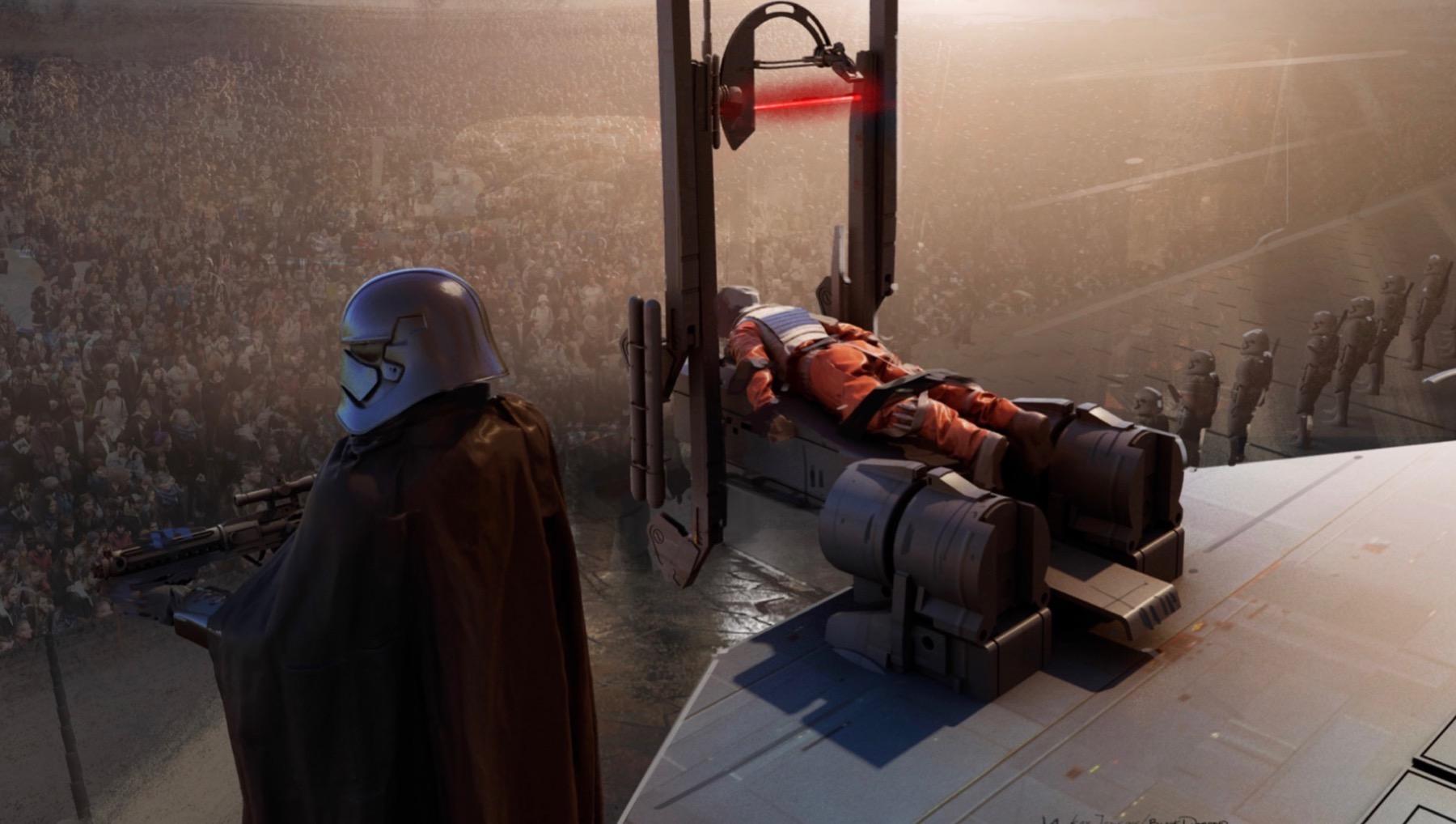 Арт: концепты кчерновой версии IX эпизода «Звёздных войн» 9