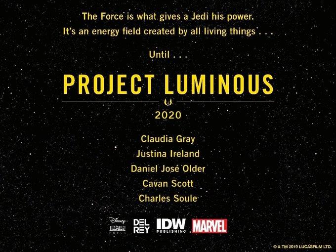 Нет, таинственный Project Luminous не связан с видеоиграми, сериалами и фильмами 3
