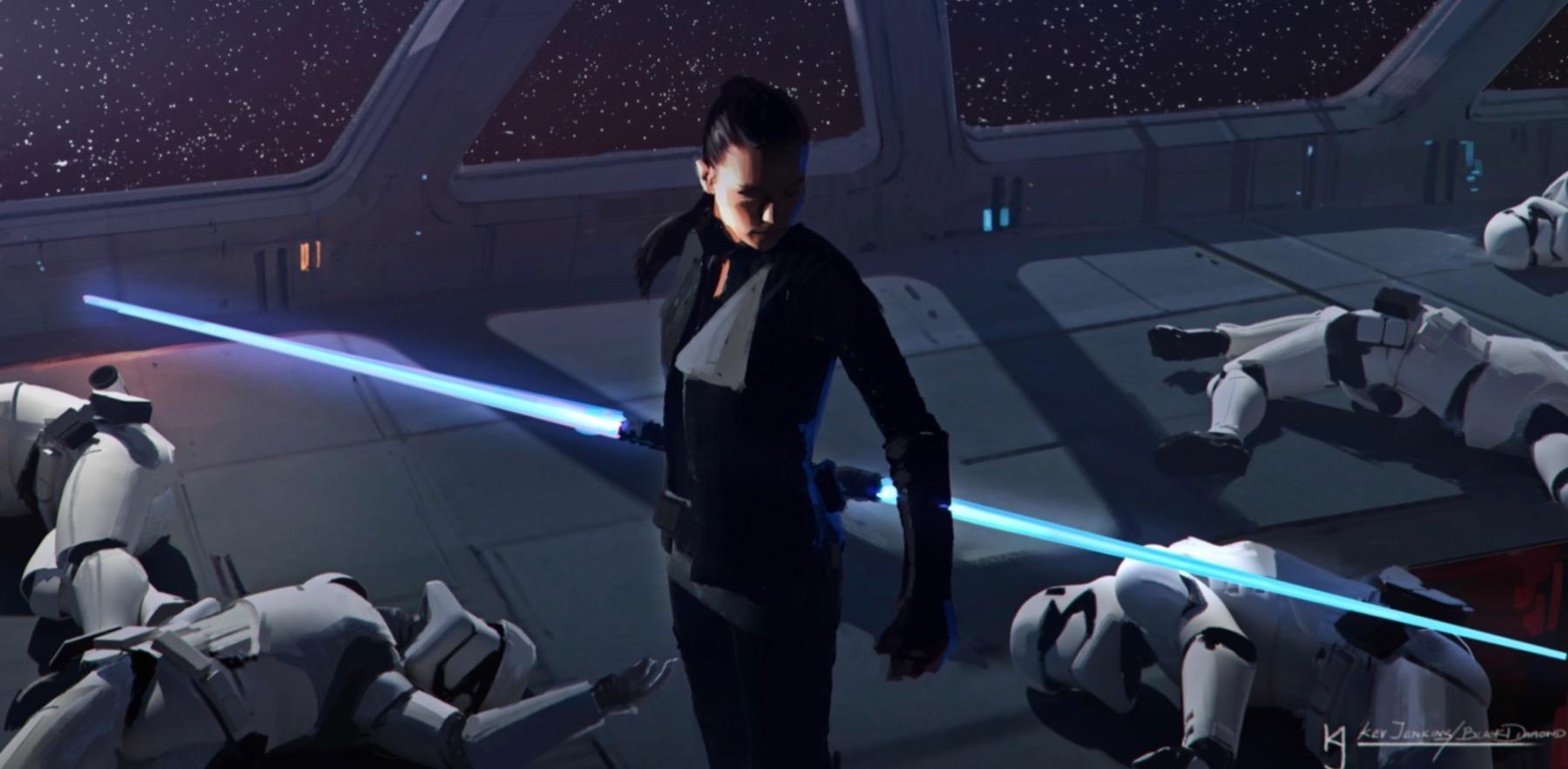 Арт: концепты кчерновой версии IX эпизода «Звёздных войн» 12