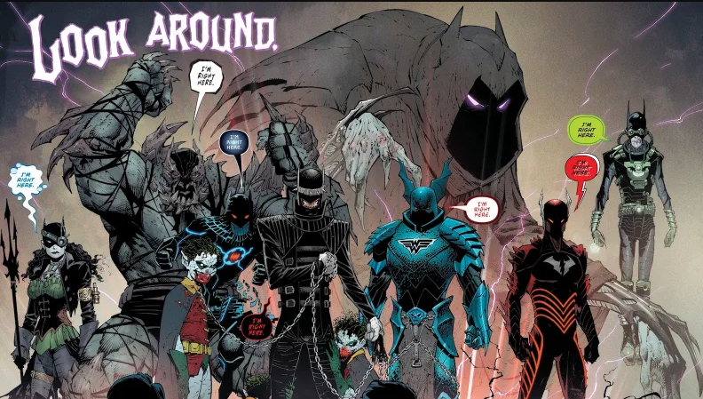 Новые комиксы про Бэтмена: «Белый рыцарь» и «Тёмные ночи: Металл» 5