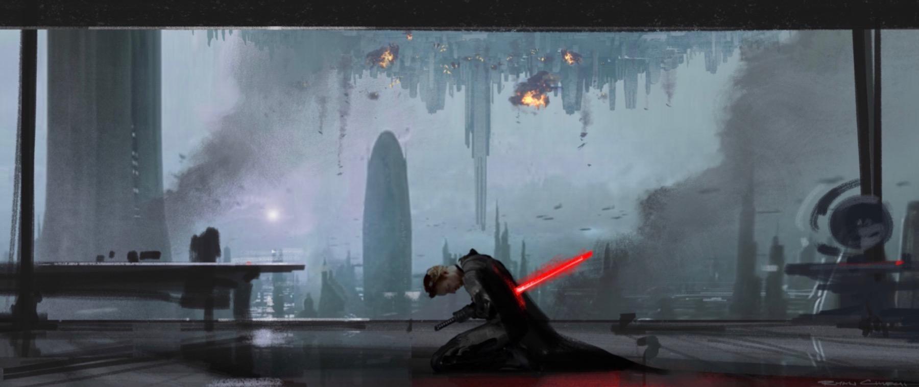 Арт: концепты кчерновой версии IX эпизода «Звёздных войн» 19