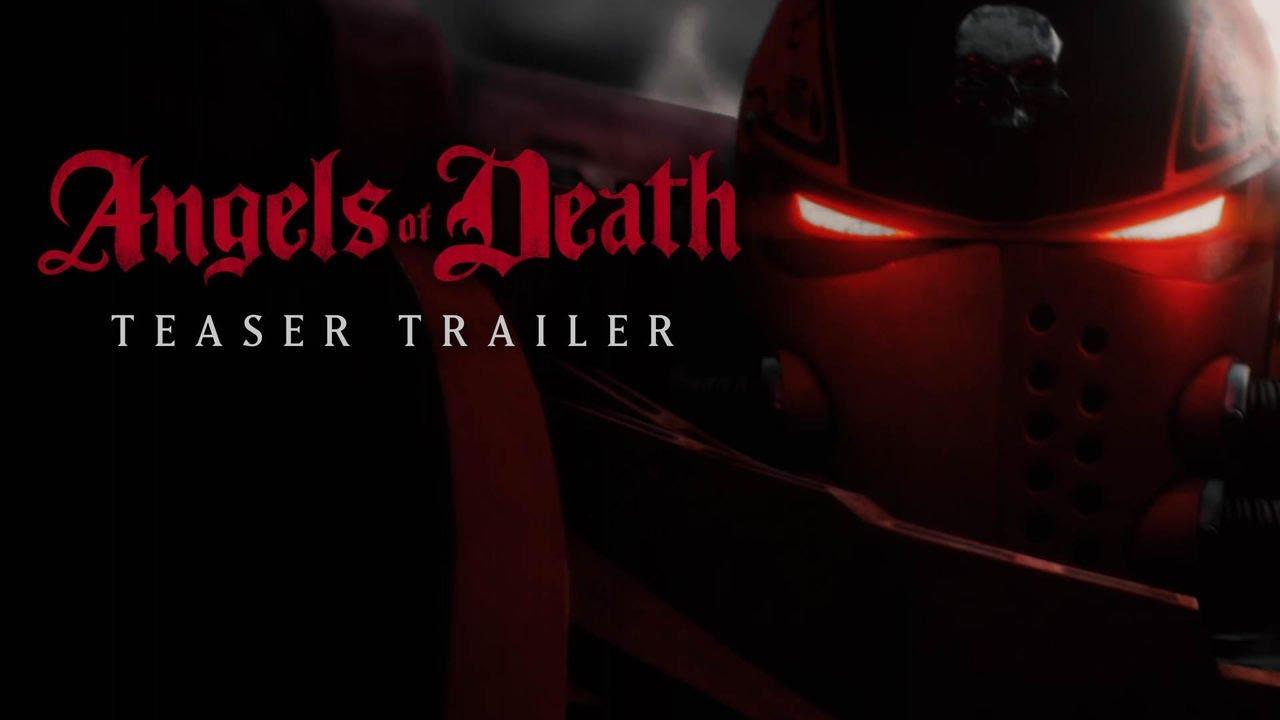 Первый тизер анимационного сериала Angels of Death поWarhammer 40,000 2