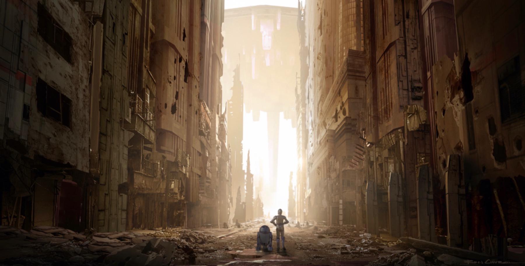 Арт: концепты кчерновой версии IX эпизода «Звёздных войн» 6