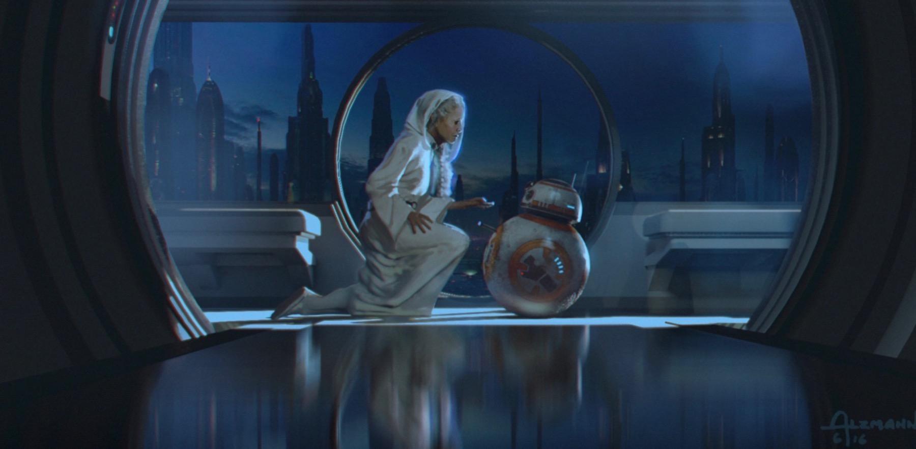 Арт: концепты кчерновой версии IX эпизода «Звёздных войн» 10