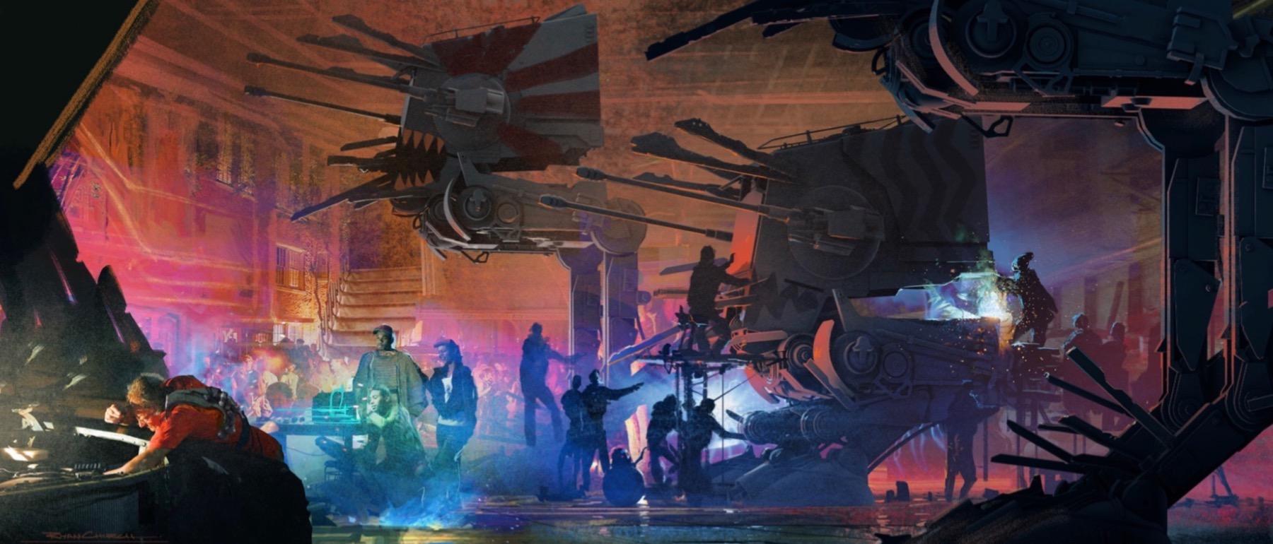 Арт: концепты кчерновой версии IX эпизода «Звёздных войн» 11
