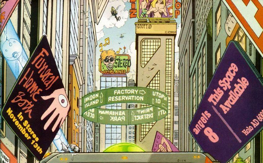 Самые ожидаемые комиксы 2020: «Трансметрополитен», «Призрак в доспехах» и не только 19