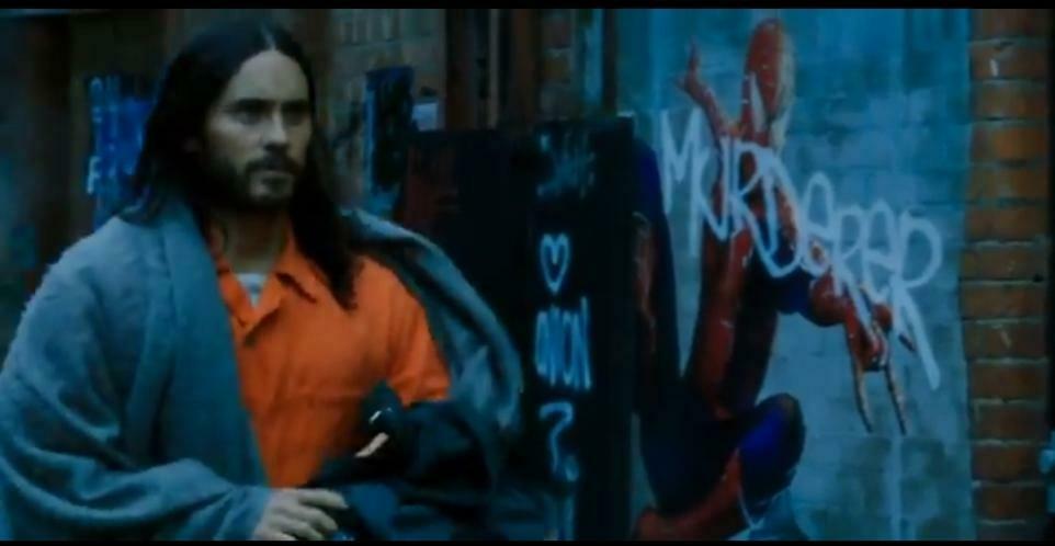 Всети появились кадры из«Морбиуса» — сякобы постером Человека-паука