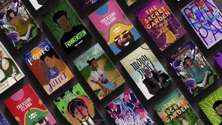 Компания Barnes & Noble выпустила классические романы собновлёнными diversity-обложками