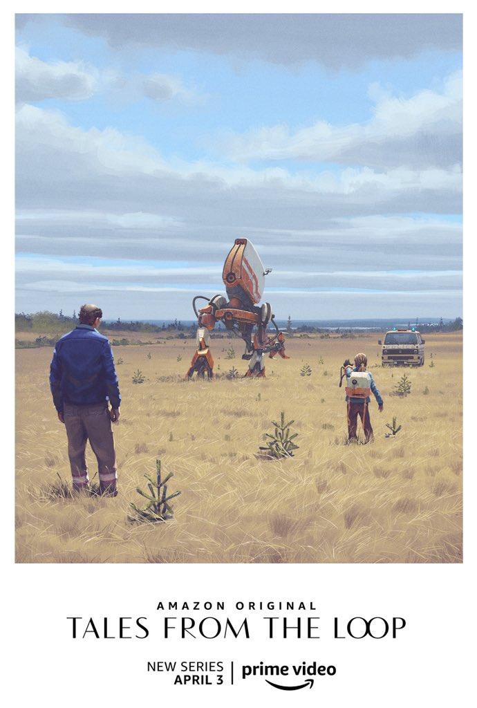 Постеры и арты Tales from the Loop — сериала повселенной художника Саймона Столенхага