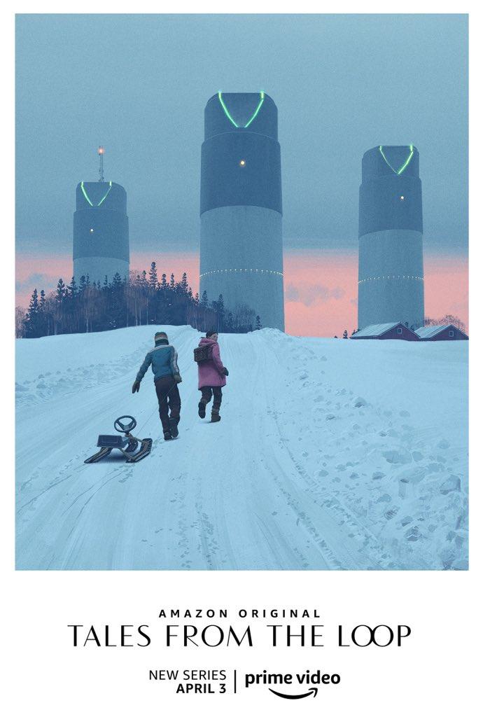 Постеры и арты Tales from the Loop — сериала повселенной художника Саймона Столенхага 1