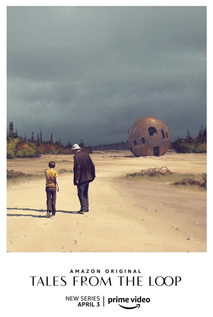 Постеры и арты Tales from the Loop — сериала повселенной художника Саймона Столенхага 2