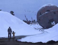 Постеры и арты Tales from the Loop — сериала повселенной художника Саймона Столенхага 4