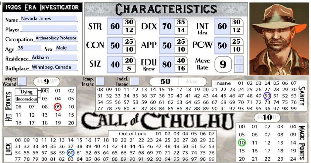 Стартовый набор Call of Cthulhu 7ed. Обзор 3