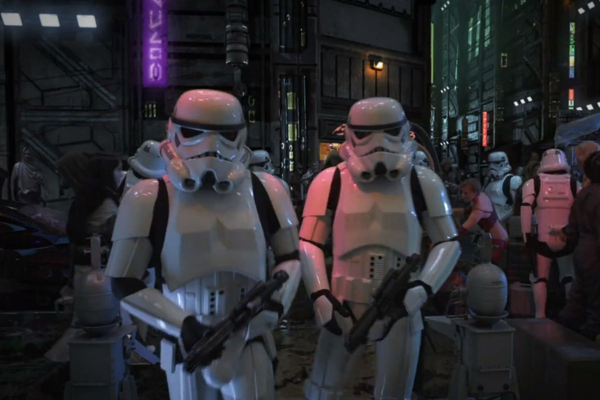 Star Wars Underworld: неснятый криминальный триллер по «Звёздным войнам» 5