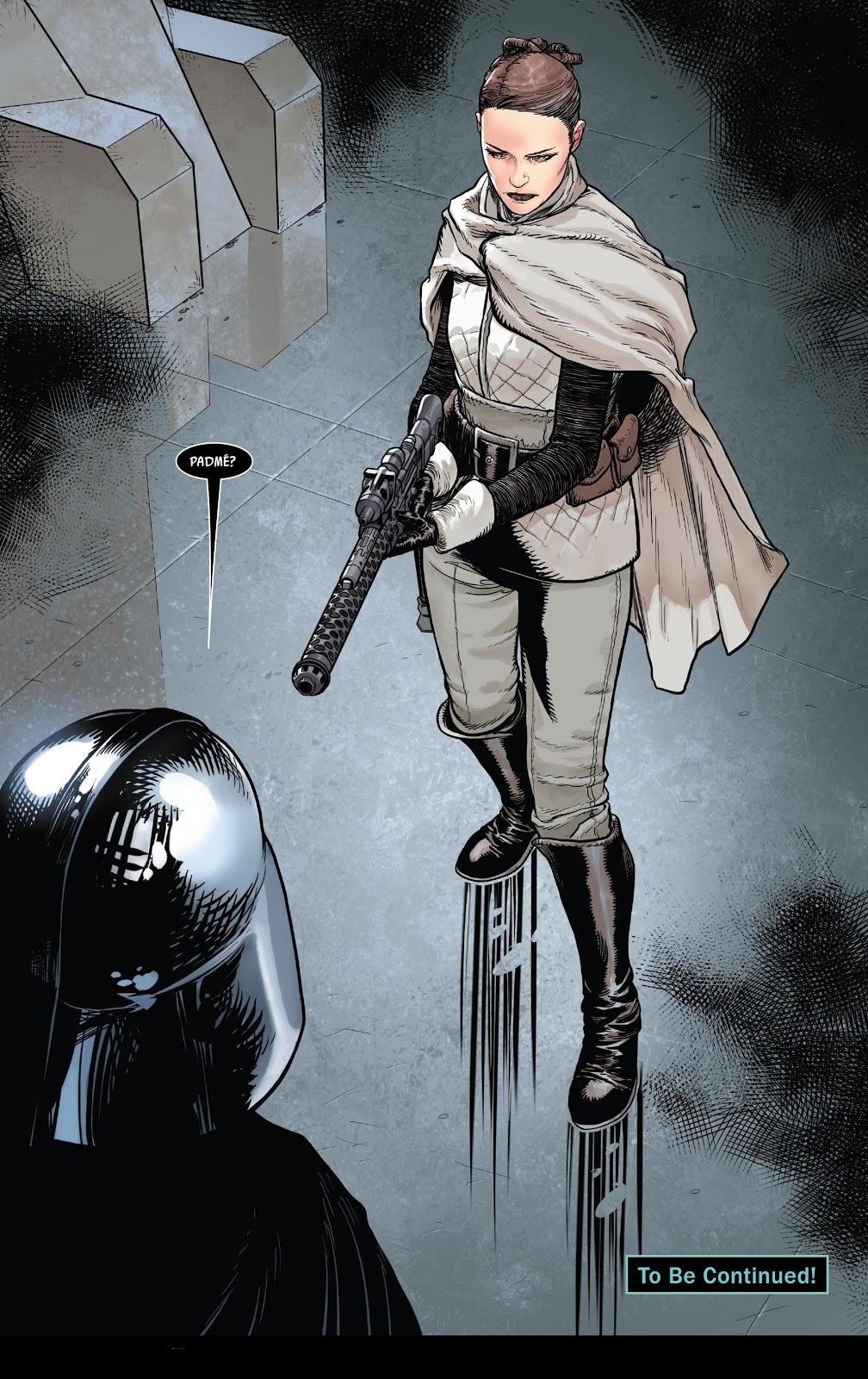 В комиксе по«Звёздным войнам» показали якобы живую Падме. Вот почему это ничего незначит 5