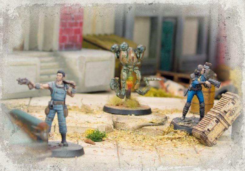 Война изменилась. Обзор ролевой игры и настольной игры сминиатюрами «Fallout. Война вПустоши» 9
