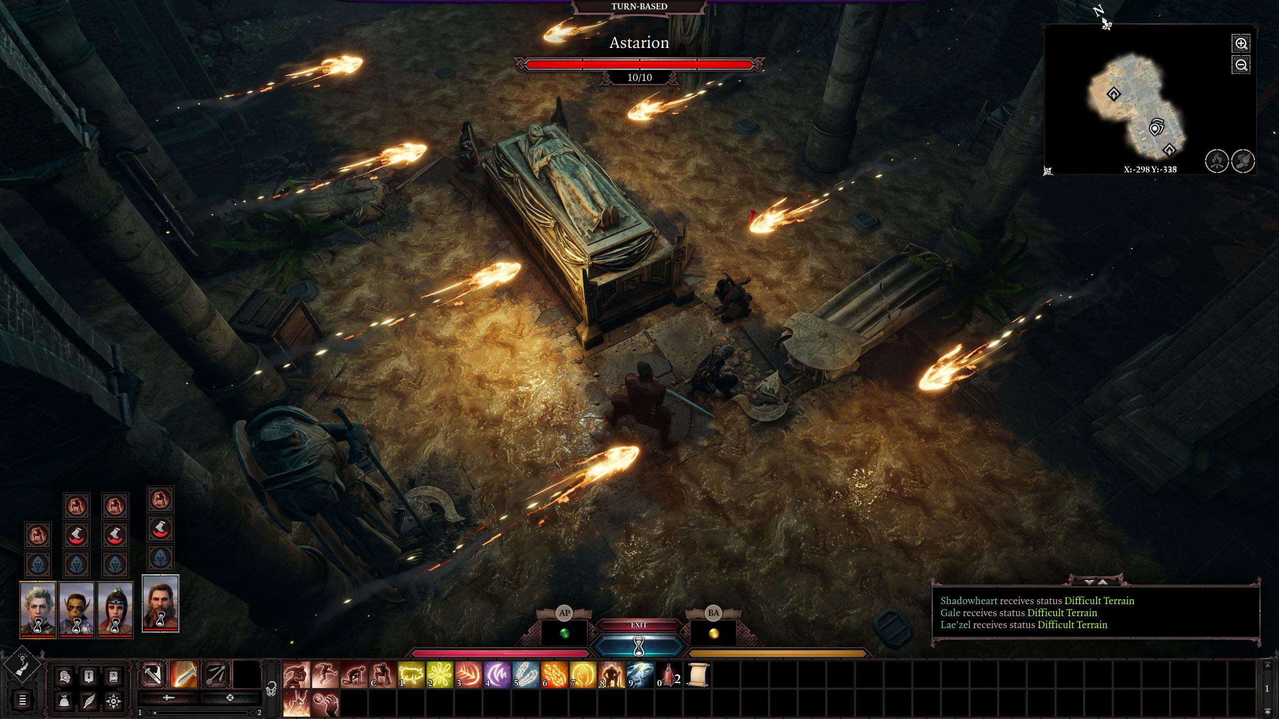Утечка: скриншоты Baldur's Gate III 1