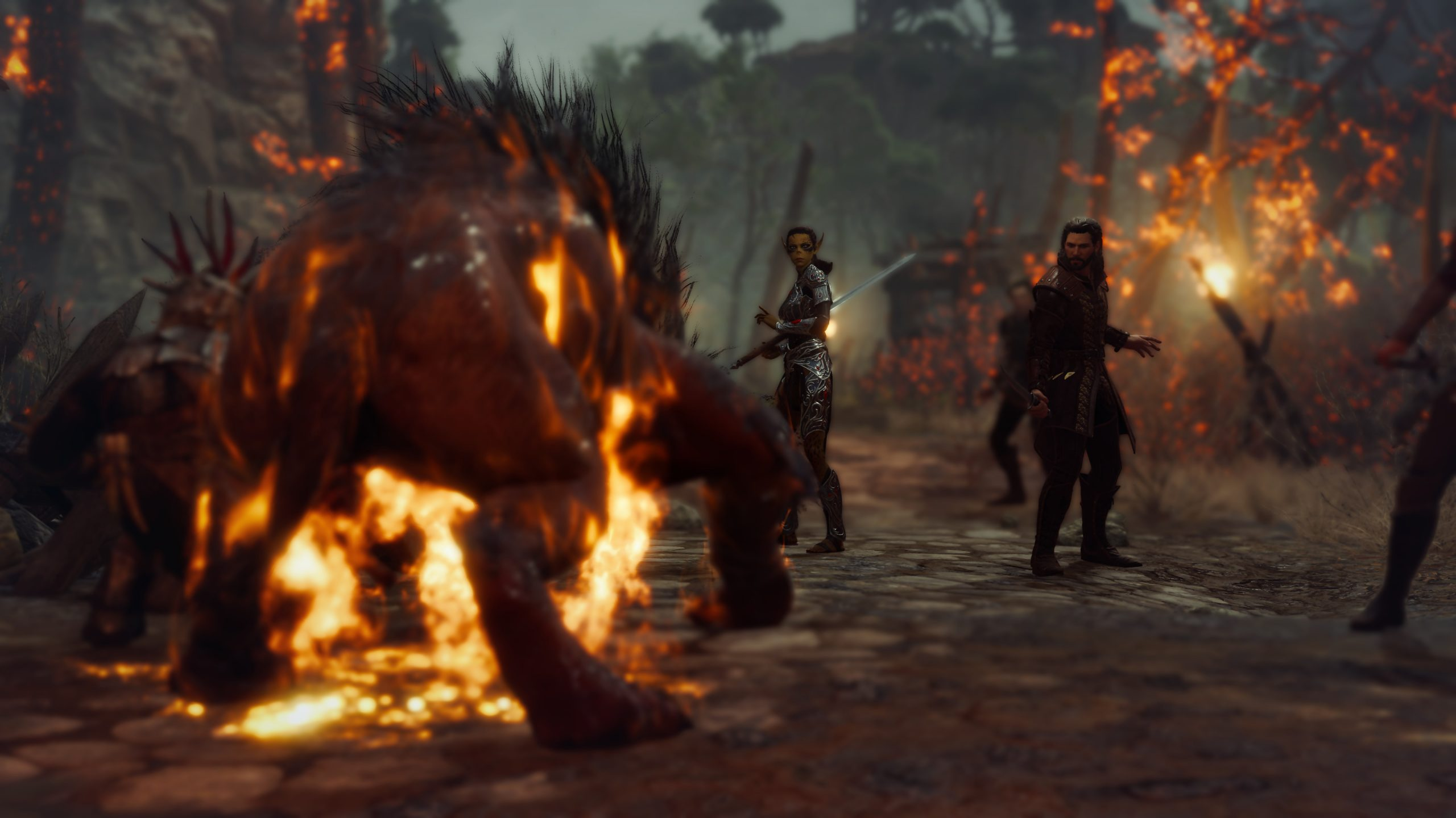 Утечка: скриншоты Baldur's Gate III 5