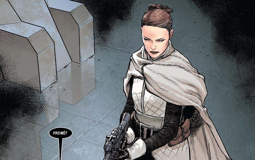 В комиксе по«Звёздным войнам» показали якобы живую Падме. Вот почему это ничего незначит