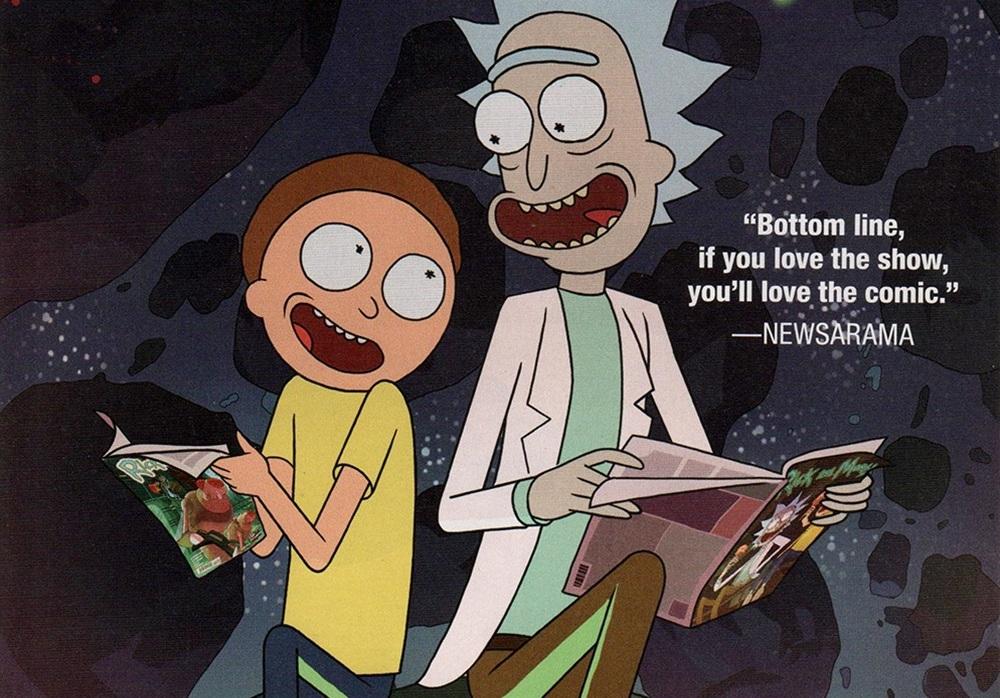 Комиксы по «Рику и Морти»: что читать, пока сериал не вернётся
