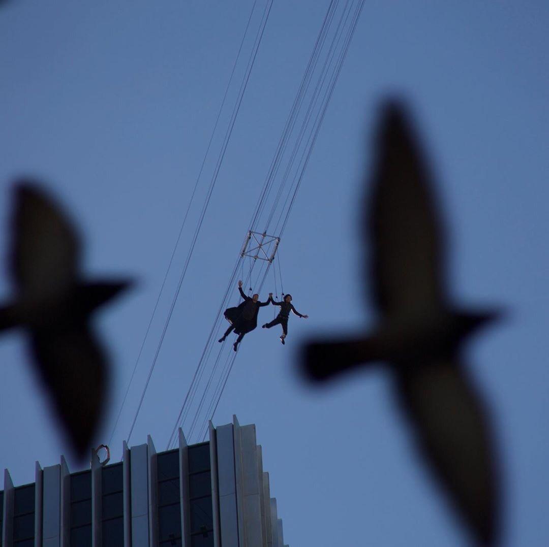 Новые фото и видео со съемок «Матрицы 4»
