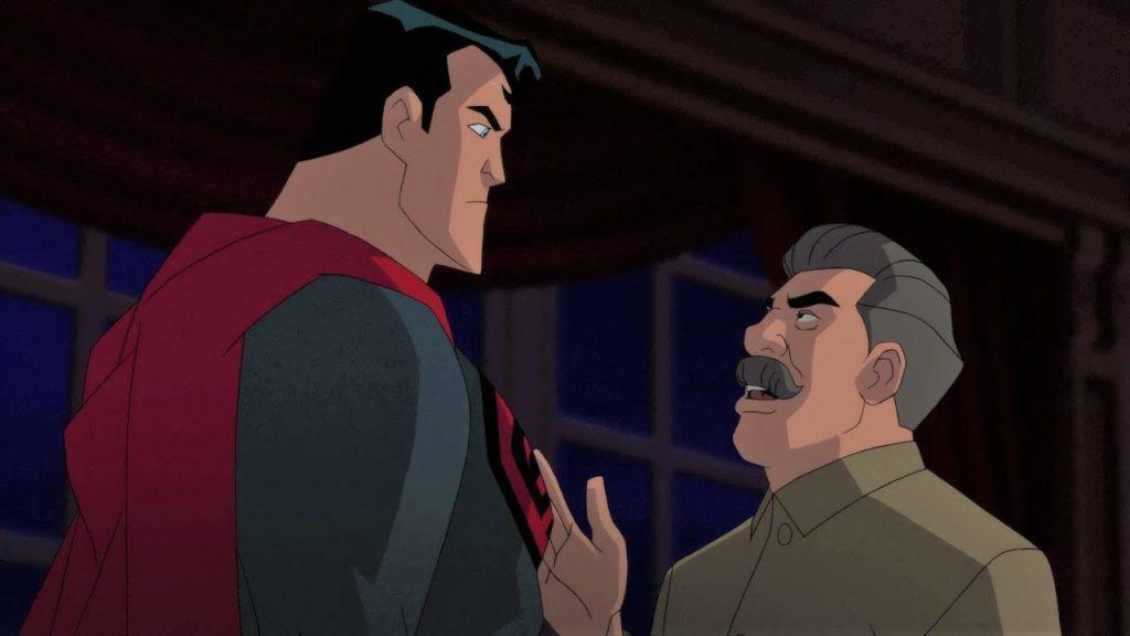 Мультфильм «Красный сын»: Письмо товарищу Супермену 4