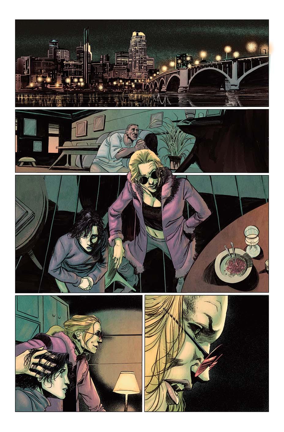 Vault Comics выпустит комикс поVampire: The Masquerade 2