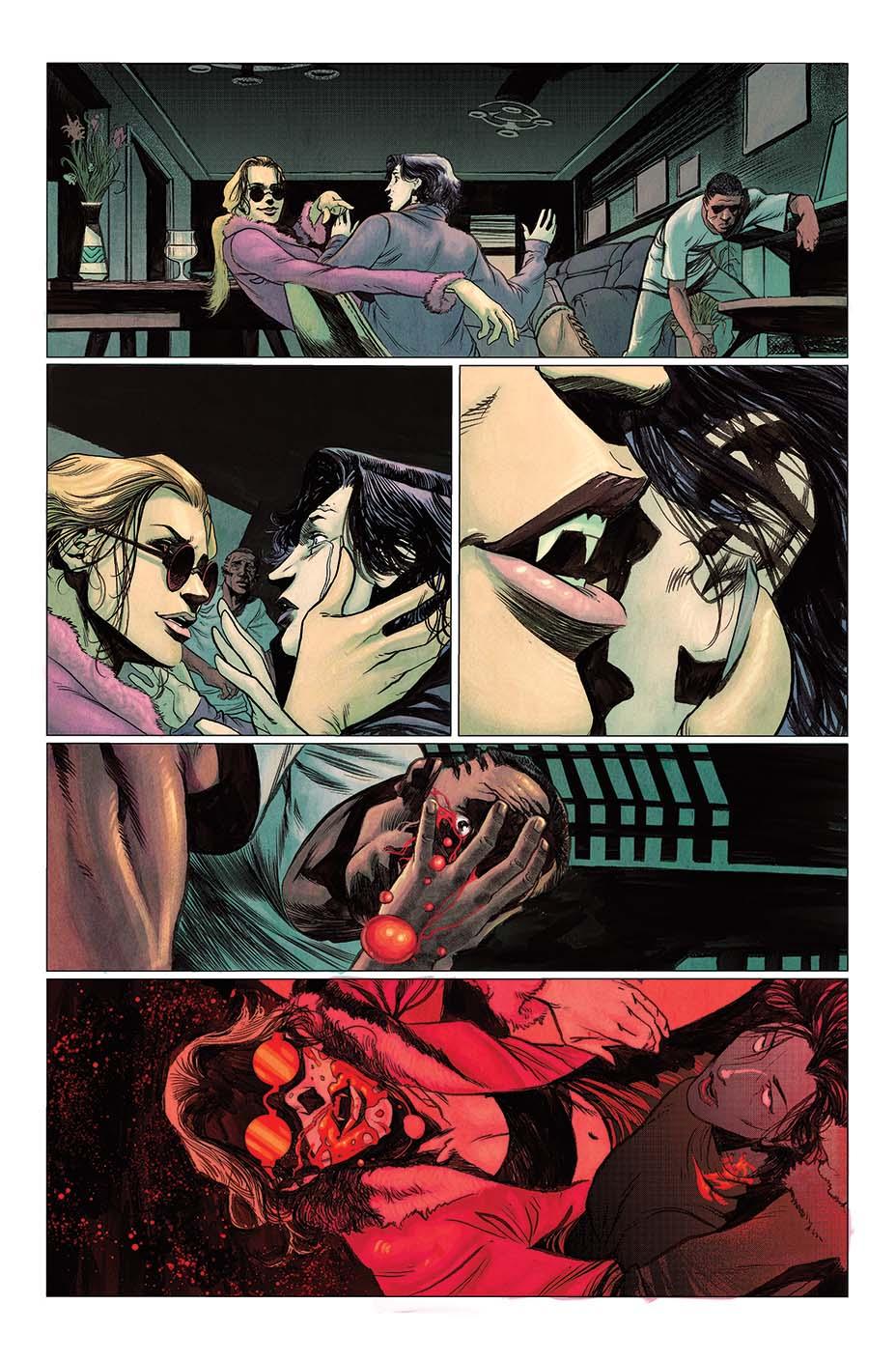 Vault Comics выпустит комикс поVampire: The Masquerade 3